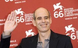 L'Israélien Samuel Maoz, 47 ans, a remporté le Lion d'or avec Lebanon à la 66e Mostra de Venise le 12 septembre 2009.