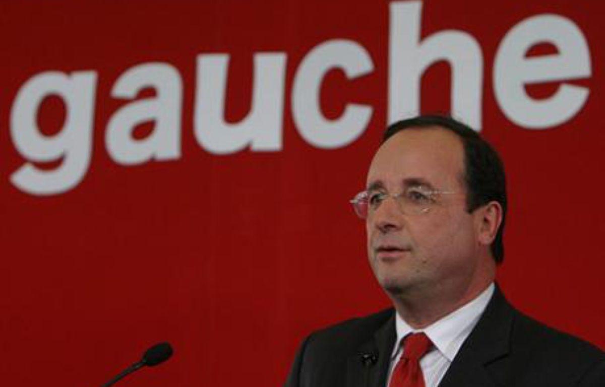 Le premier secrétaire du Parti socialiste, François Hollande. – Philippe Grangeaud/PS/Flickr/CC