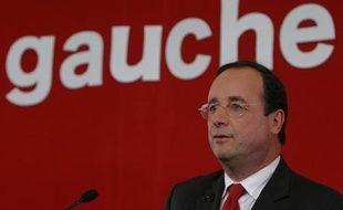 Le premier secrétaire du Parti socialiste, François Hollande.