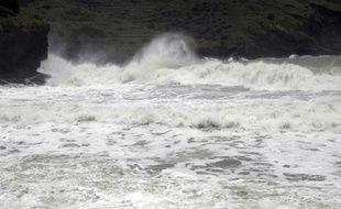 La tempête Fakir touche l'île de La Réunion. (Illustration)