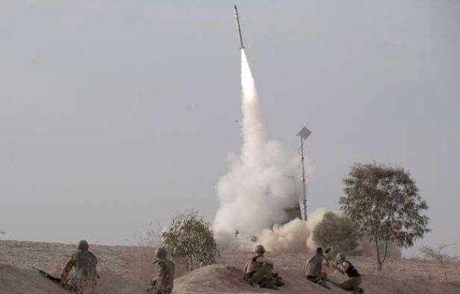 Une batterie «Iron Dome» en action dans le sud d'Israël le 17 novembre 2012.