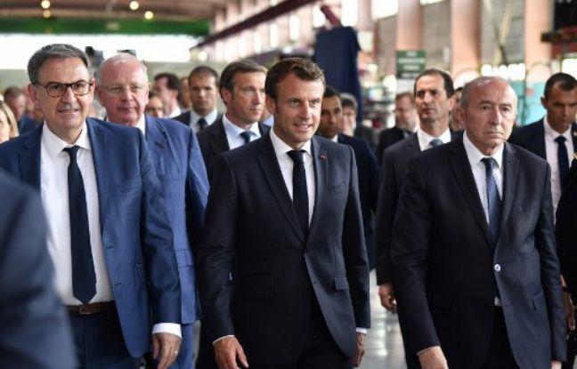 Municipales 2020: A Lyon cette semaine, Emmanuel Macron va-t-il siffler la fin de la récré entre Collomb et Kimelfeld?