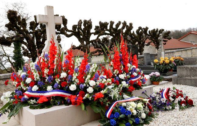 La tombe du général de Gaulle, à Colombey-les-Deux-Eglises.