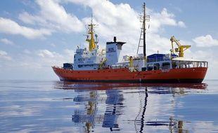 L'un des bateaux de sauvetage de migrants de l'ONG SOS Méditerranée, le
