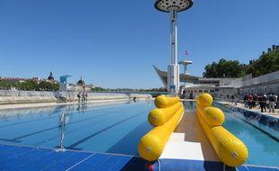 Le bassin olympique de la piscine du Rhône, entièrement rénové.