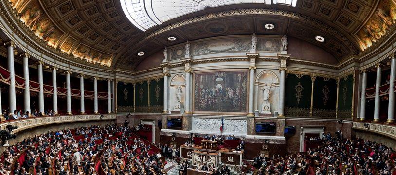 Vue générale de l'Assemblée nationale.
