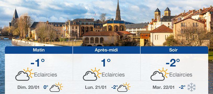Météo Metz: Prévisions du samedi 19 janvier 2019