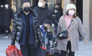 Une famille chinoise à Pékin, illustration