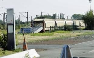 A la gare de Seclin, cette rampe d'accès aux trains n'aura bientôt plus d'utilité.