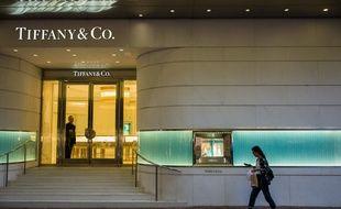 Un magasin Tiffany and Co à Hong Kong (image d'illustration).