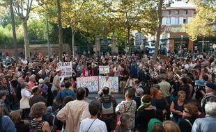 Manifestation en hommage à Rémi Fraisse, le 27 octobre 2014 à Albi.