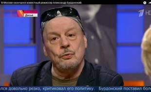 Alexandre Bourdonski en 2015 sur la chaîne russe Новости на Первом Канале