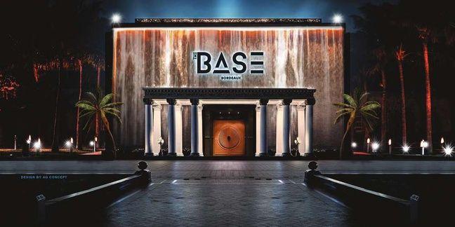 Un visuel de The Base, la nouvelle boite de nuit des bassins à flot à Bordeaux.
