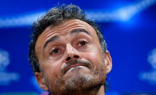 L'entraîneur du FC Barcelone Luis Enrique, le 23 novembre 2015.