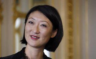 La ministre de la Culture Fleur Pellerin le 22 septembre 2014 à Paris
