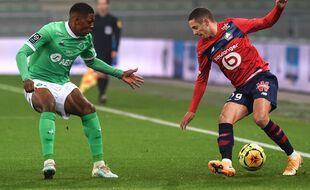 Ici face à Youssouf, Bradaric s'est notamment illustré en concédant un étrange penalty ce dimanche. OLIVIER CHASSIGNOLE