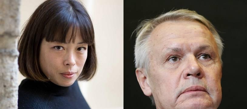 Catherine Graciet en 2009 et Eric Laurent en 2006.