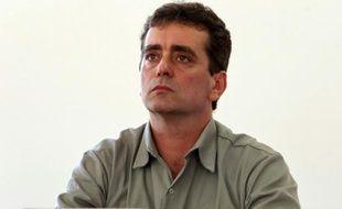 Ricardo Vescovi, président de l'entreprise brésilienne Samarco, le 11 novembre 2015 à Minas Gerais au Brésil
