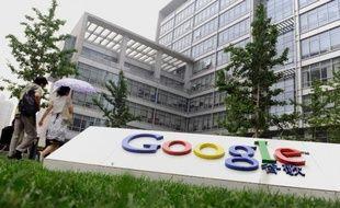 Le siège social de Google à Pékin, en Chine, le 30 juin 2010