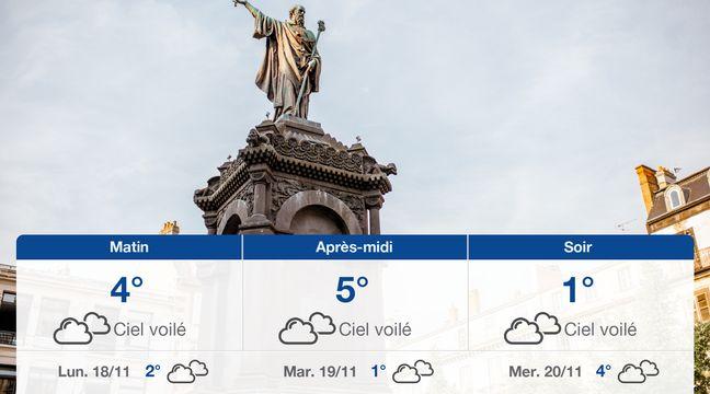 Météo Clermont-Ferrand: Prévisions du dimanche 17 novembre 2019 - 20minutes.fr