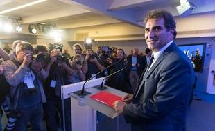 Christian Jacob, le président des Républicains, le 13 octobre à Paris. (Jacques Witt/SIPA)