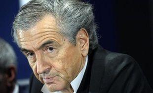 Bernard-Henri Levy, le 1er avril 2015 à Paris