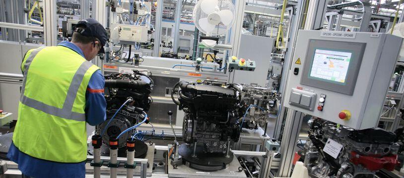 L'usine de Douvrin du groupe automobile Stellantis.