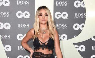 La chanteuse Rita Ora aux GQ Men of the Year Awards 2019