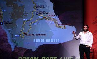 David Castera, directeur du Dakar, a dévoilé le parcours 2020 en Arabie Saoudite.