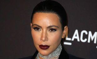 Kim Kardashian à Los Angeles en novembre 2015