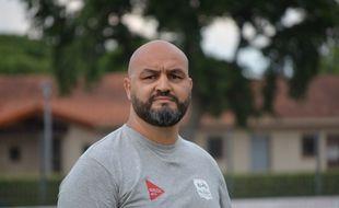 Boumédienne Allam, sélectionneur et manager de l'équipe de rugby d'Algérie.