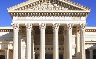 Le Palais de Justice de Nîmes. (photo illustration)