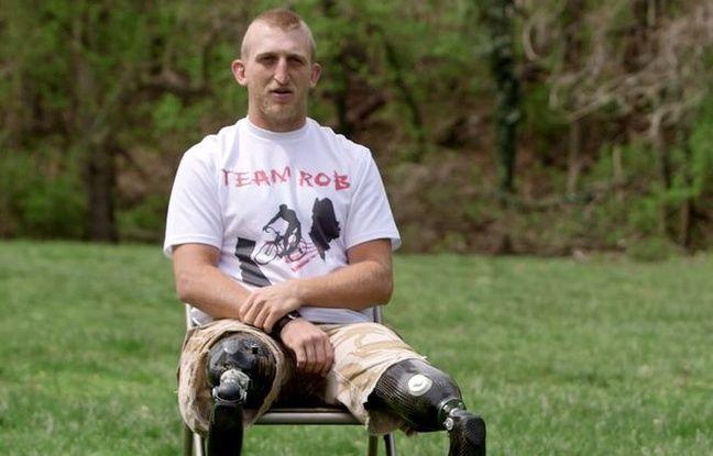 nouvel ordre mondial   États-Unis: Un marathon par jour pendant un mois, le défi fou d'un ancien soldat amputé des jambes