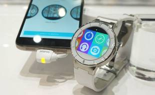 La  Watch d'Alcatel OneTouch sera compatible iOS et Android.