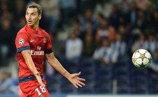 Le Parisien Zlatan Ibrahimovic, le 3 octobre 2012, à Porto.