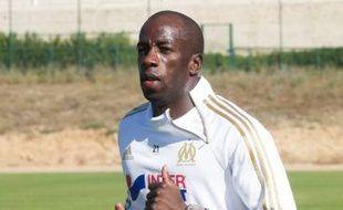 Souleymane Diawara, du temps où il portait les couleurs de l'OM. (Archives)