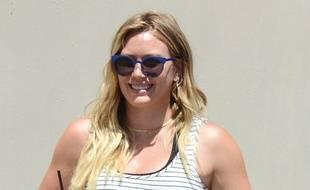 L'actrice Hilary Duff  à Los Angeles.