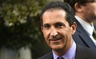 Le président du groupe de télécoms Altice Patrick Drahi, le 24 juin 2015 à Paris