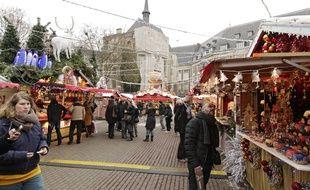 Le marché de Noël de Lille.