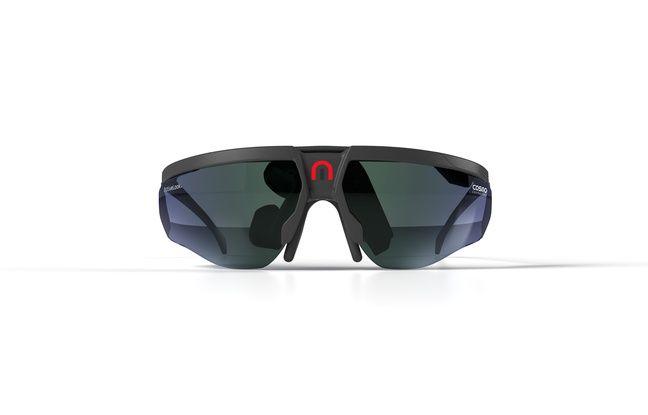 Les lunettes affichage tête haute pour cyclistes présentées par Cosmo Connected au CES 2020.