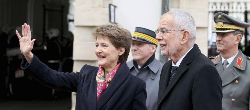 La présidente suisse Simonetta Sommaruga (illustration).