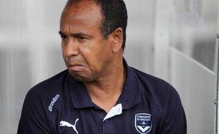 L'entraîneur des Girondins de Bordeaux, Jean Tigana, le 31 juillet 2010