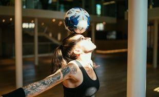 Alice Fougeray était présente à la coupe du monde féminine de football.