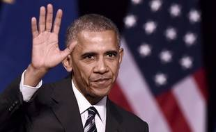 Barack Obama, le 16 novembre 2016 à Athènes.