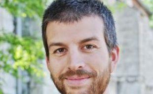 Mathieu Chicoisne, de retour de Palestine.