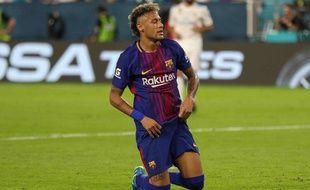 5ec96a6e0876 Neymar lors d un match amical avec le FC Barcelone