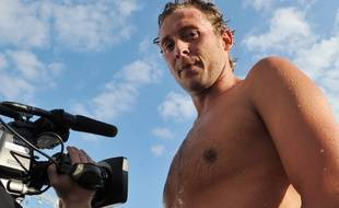L'ancien nageur Amaury Leveaux, en juin 2013, à Vichy.