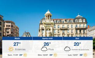 Météo Lyon: Prévisions du vendredi 10 juillet 2020