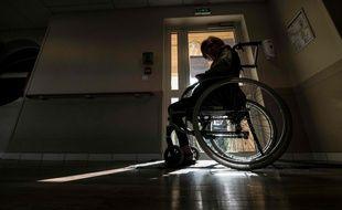 Une personne âgée dans un Ehpad. (Illustration)