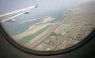 Une vue aérienne de l'aéroport de Dubaï, le 19  avril 2007